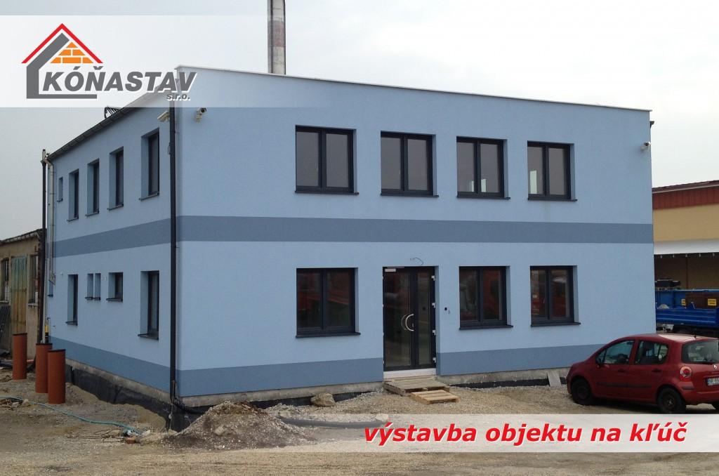 Administratívne a obchodné budovy Nitra, Nové Zámky, Šurany, Komárno